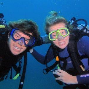 Kris PADI Dive Instrcutor on Koh Lipe Thailand
