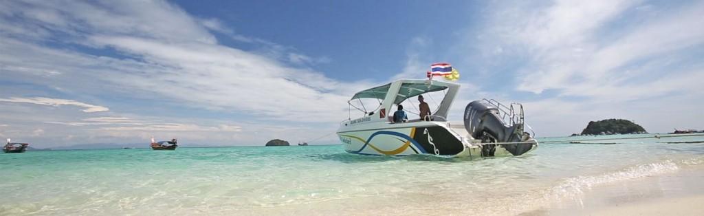 Speedboat Sunrise Beach Koh Lipe Thailand