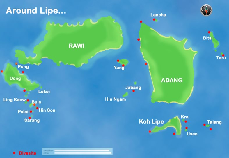 Diving Koh Lipe Thailand