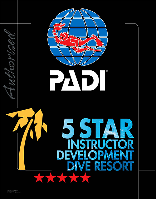 We are now a PADI 5* Resort