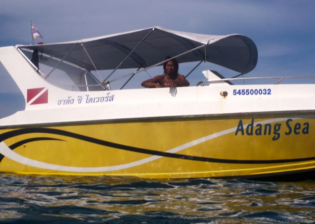 Captain Speedboat Diving Koh Lipe Thailand
