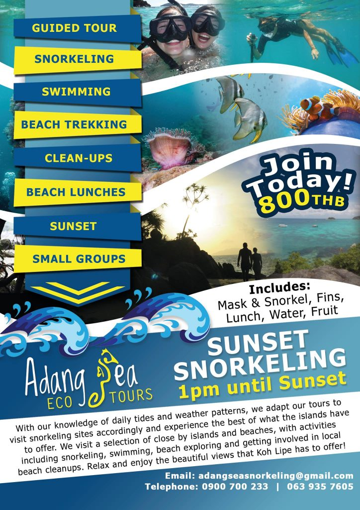 Eco Sunset Snorkeling Tour