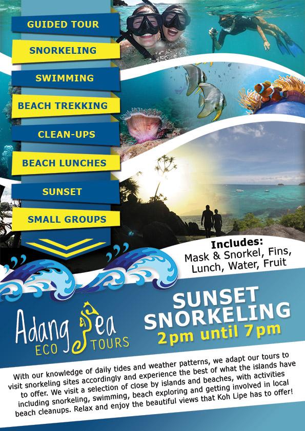Eco Snorkelling Tours Ko Lipe