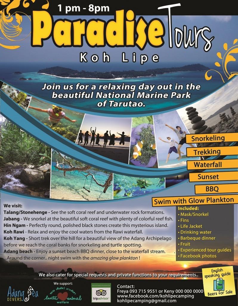 Paradise Tours Koh Lipe