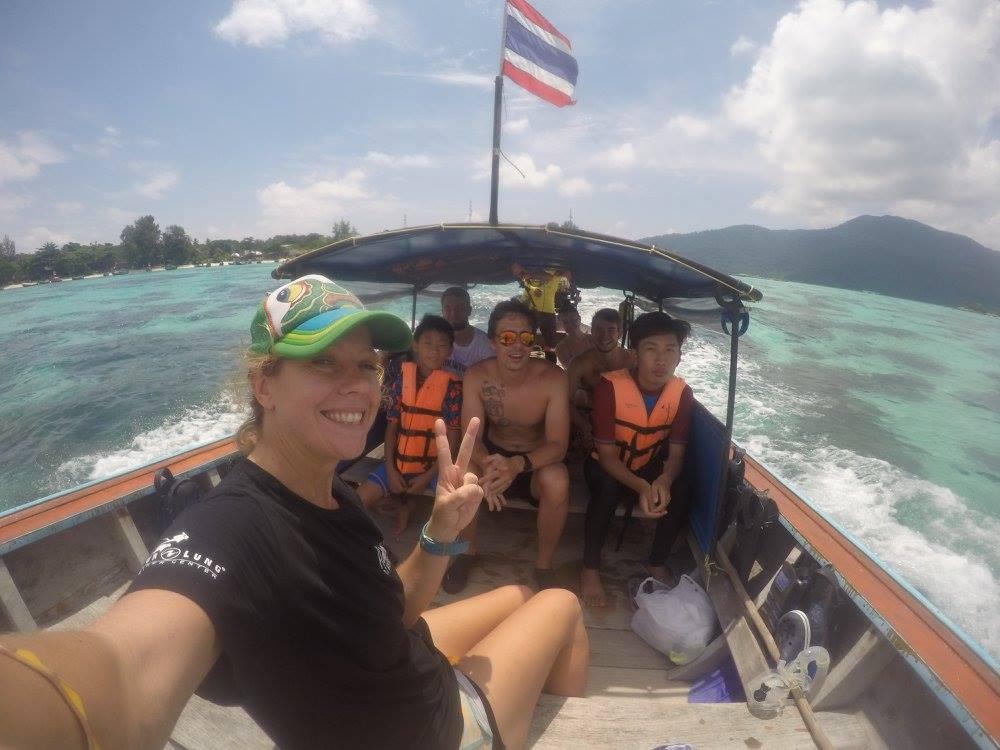 Snorkeling tour happy customers
