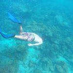 snorkeling swimming coral Ko Lipe