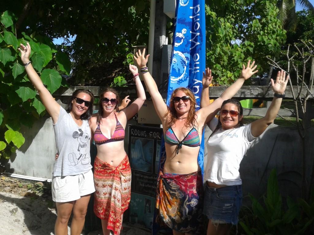 Stacey & Taralynn PADI Open Water Course Koh Lipe