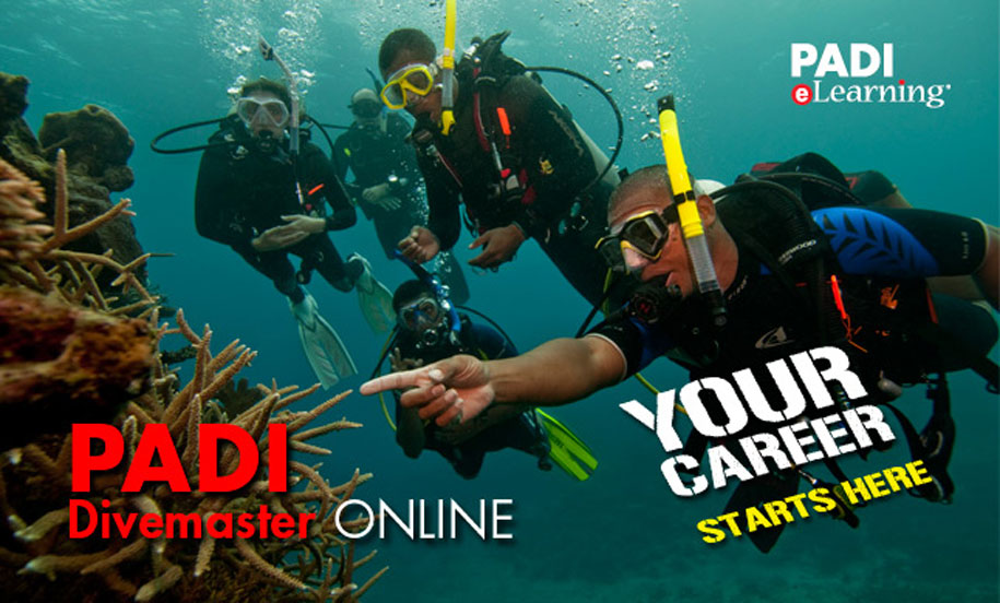 PADI eLearning Divemaster Course Diving Koh Lipe