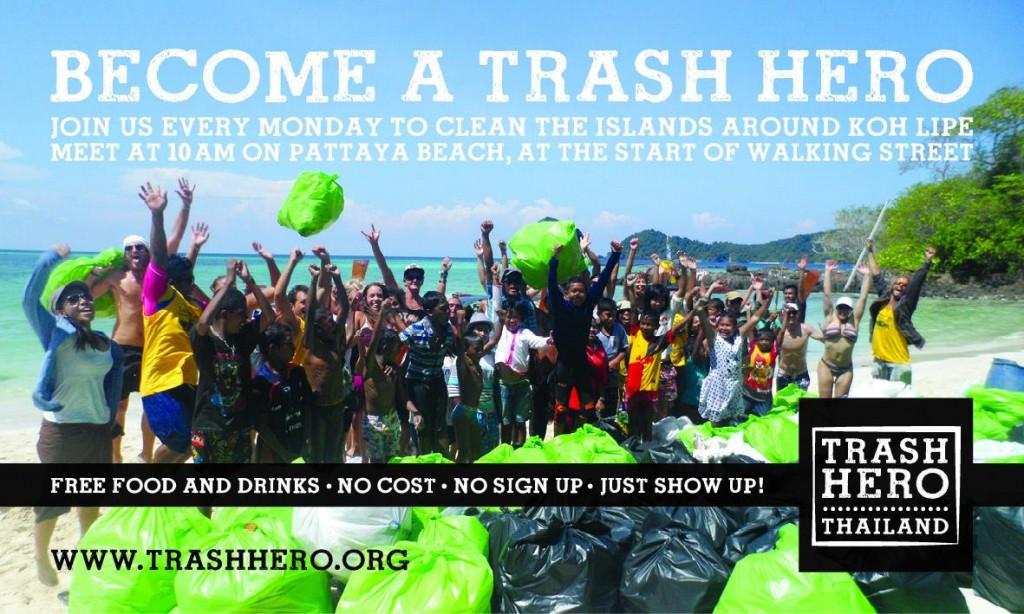 Trash Hero Koh Lipe Adang Thailand