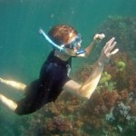 Free Diving over Coral Koh Lipe