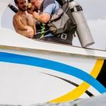Gearing up Divers Divemaster Koh Lipe Thailand Speedboat