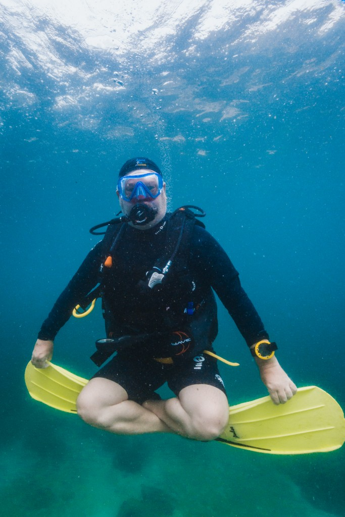 PADI Advanced Open Water Course Hover Buoyancy Skills Koh Lipe Thailand