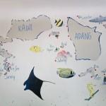 Koh Lipe Dive Site Map Thailand Tarutao Marine Park