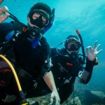 Discover SCuba divers being guided on Koh Lipe