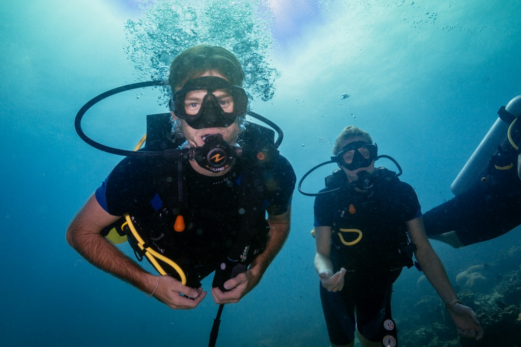 Certified Divers Buddy Team Diving Koh Lipe Thailand