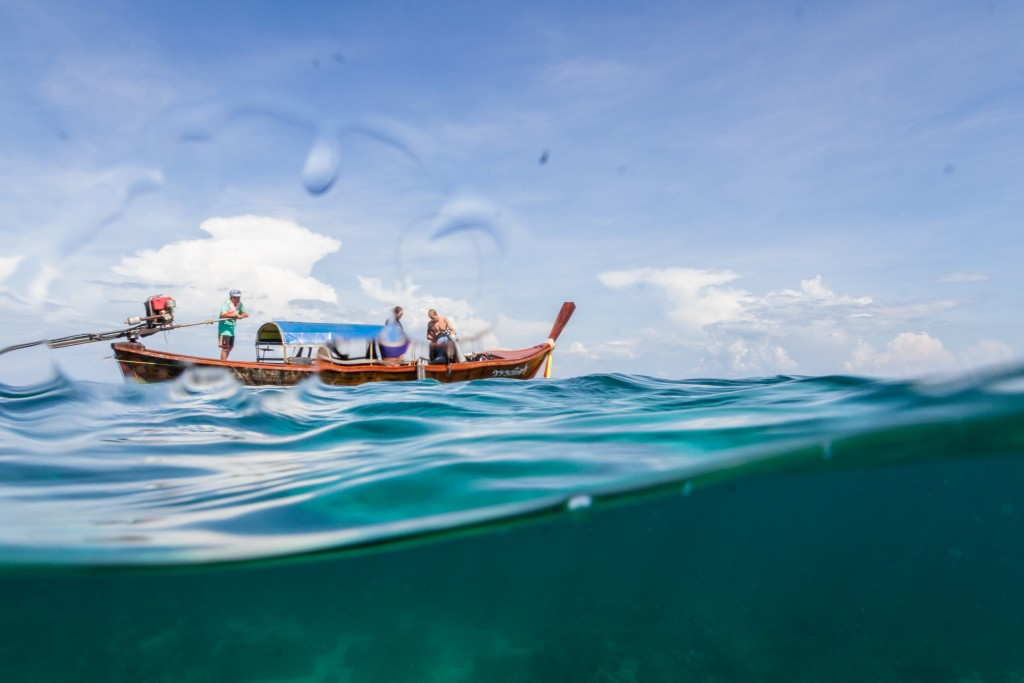 Longtail aorund Lipe and Tarutao Marine Park Thailand