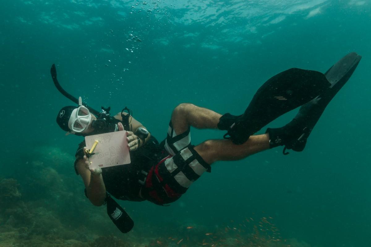 Happy Birtday diving Ko Lipe